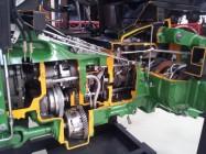 John Deere Tractor Cutaway